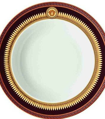 VERSACE ICONIC HEROES MEDUSA SOUP BOWL PLATE DEEP ROSENTHAL New SALE