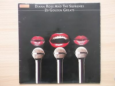 Diana Ross And The Supremes 20 Golden Greats vinyl lp