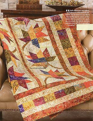 Fall Frolic Quilt Pattern Pieced/Applique JW