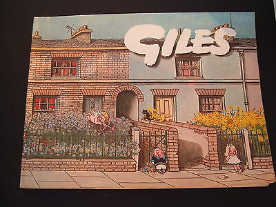Daily Express Giles Cartoon Annual 1965-1966 20th Twentieth Series. Unclipped