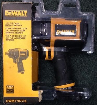 DEWALT 0.5-in 1/2 inch 650-foot-lbs Air Impact Wrench DWMT70773l