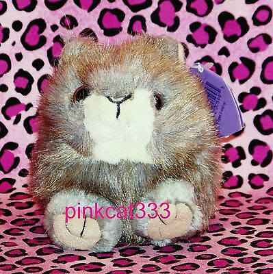 SWIBCO PUFFKINS PLUSH BROWN SQUIRREL~~Nutty #6609~~DOB 5-22-97~BEAN BAG~NWT NEW