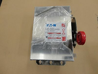 Eaton 30A 600 3 Pole Non-Fusible Encl.; Dh361Uwk-Csa; Heavy Duty Safety Switch