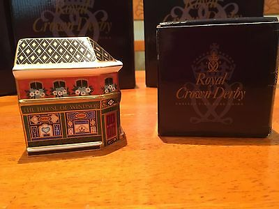 Royal Crown Derby House of Windsor in original box Limited Edition
