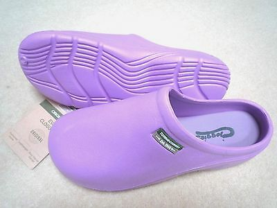 NEW Town & Country lilac lightweight Eva CLOGGIES--Size 8 adult.