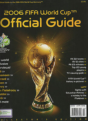 2006 World Cup Finals Official Football Guide Collector's Edition