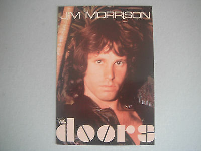 The Doors : Jim Morrison Postcard . Printed In The U.s.a . Issued In 1991 . New