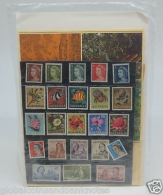 Australia  - 1970 Definative Stamp Pack - Stamps Well Placed ' SCARCE'