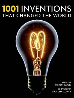 1001 Inventions: That Changed the World by Challoner, Jack Paperback Book The