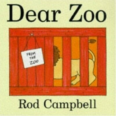 Dear Zoo: Lift the Flaps by Campbell, Rod Hardback Book The Cheap Fast Free Post