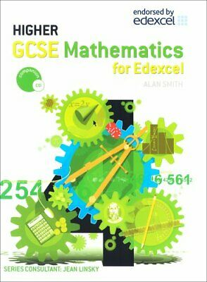 Edexcel GCSE Maths Higher Text Book (Gcse Mathematic... by Smith, Alan Paperback