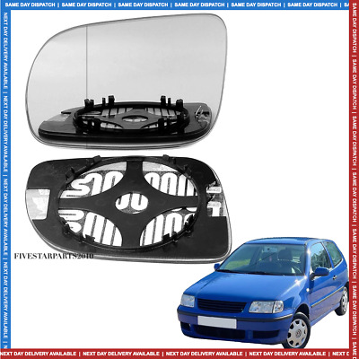 plate Left side Wide Angle Wing mirror glass for Vw transporter T4 LHD 90-03