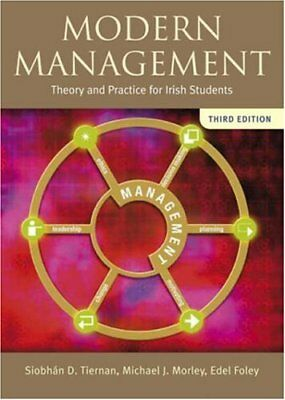 Modern Management by Foley, Edel Paperback Book The Cheap Fast Free Post