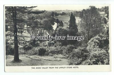 tq1673 - Somerset - The Avon Valley from Limpley Stoke Hotel - postcard