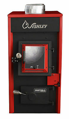 Ashley Hearth 1,900 Square Foot Hotblast Wood Burning Warm Air Furnace