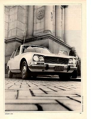 1970 Peugeot 504  ~  Rare Original 5-Page Road Test / Article / Ad
