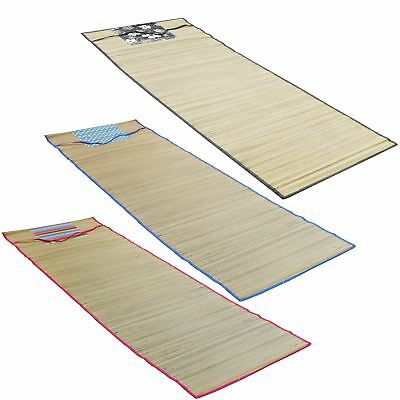 Roll Up Straw Beach Mat Carry Mat Travel Holiday Camping Festival Park Picnic