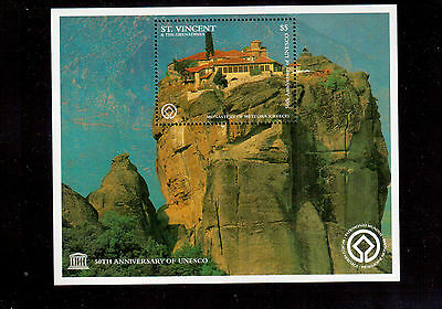 ST. VINCENT & THE GRENADINES 1997 #2398 SOUVENIR SHEET VF NH UNESCO 50th ANNIV.