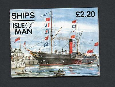 Isle Of Man 1993 Ships Booklet