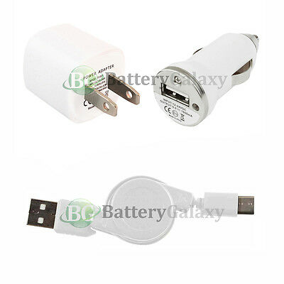 USB Type C Cable+Car+Wall Charger for Phone Motorola Moto Z/Z Force/Z Play Droid