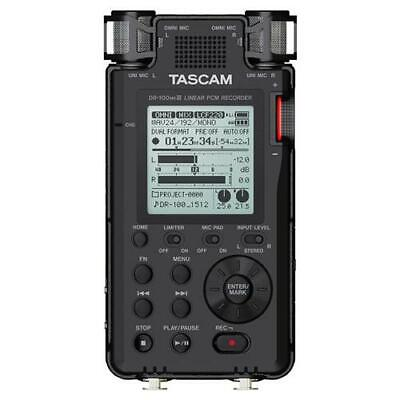 Tascam DR-100MKIII Stereo Linear Portable PCM Recorder