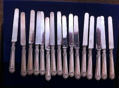 Paris France/french Art Nouveau 1900-20 .950 Sterling Silver Knives/minerva Mark