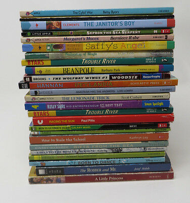 LOT 25 ACCELERATED Reader Books All 4th 5th Fourth Grade AR L11 Chapter Books
