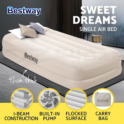 Bestway Queen Air Bed Inflatable Mattresses Sleeping Mats Home Camping Outdoor