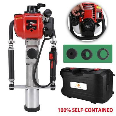40cc Gas Powered T-Post Driver XY139-F Gasoline Engine 4 Stroke Push Pile Driver