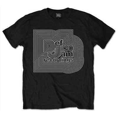 Def Jam Recordings - 30th Anniversary Mens Short Sleeve T-Shirt - New & Official