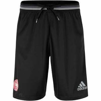 adidas Men's DBU Denmark adizero Football Training Shorts 3 Stripes Black & Grey