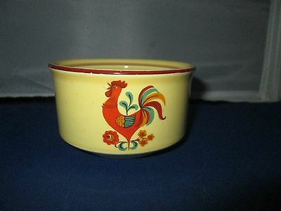 Taylor Smith & Taylor REVEILLE ROOSTER sugar bowl