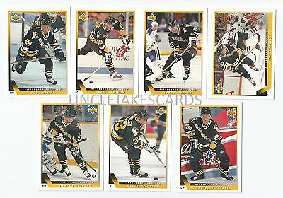 1993-94 UPPER DECK PITTSBURGH PENGUINS Select from LIST SERIES 2 HOCKEY CARDS