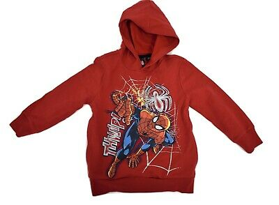 Youth Marvel Spiderman THWIP! Hoodie New 4-5, 6-7, 8, 10-12