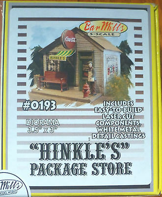 Bar Mills #193 (S Scale) Hinkle's Package Store (Building Kit)