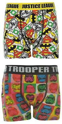 Boys Official Licensed Character Underwear Boxers Shorts Pants Trunks Briefs