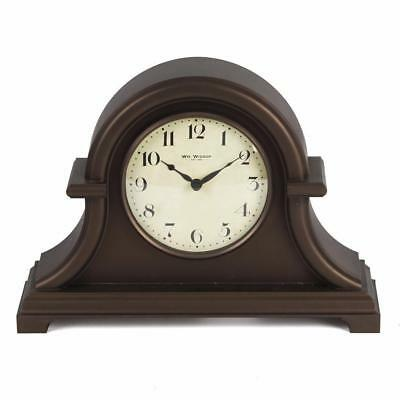 Traditional Vintage Retro Wooden Mantel Clock New Boxed W2021