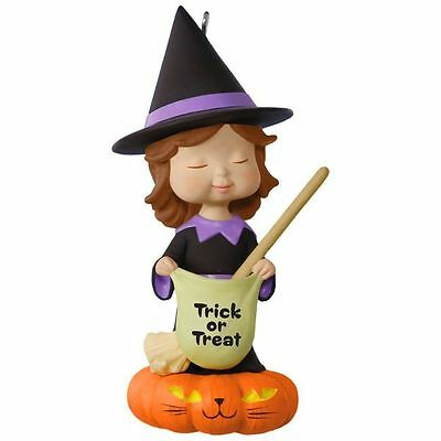 Hallmark 2017 Sweet Trick or Treater Mary's Angels Halloween Ornament