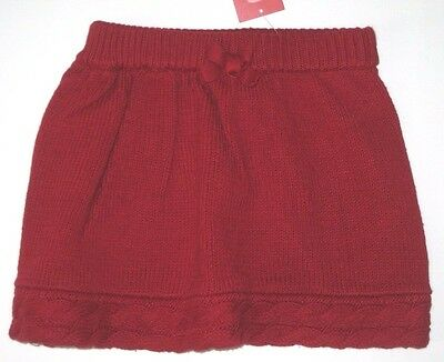 Gymboree Alpine Sweetie Sweater Skirt 18-24 or 5T Red Winter Girls New Twins