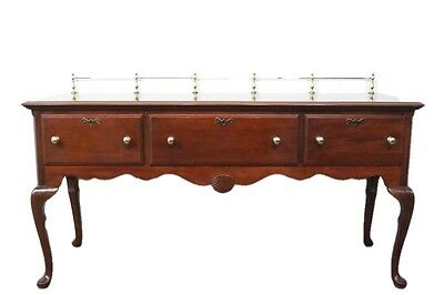 LEXINGTON FURNITURE 68″ Heirloom Mahogany Collection Queen Anne Sideboard w/ ...