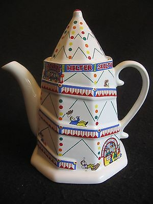 WADE POTTERY COCKLESHELL COVE 'HENRY'S HELTER SKELTER' ENGLISH LIFE  c.80's