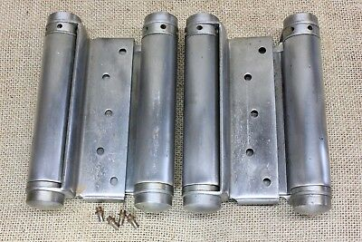 "5"" door hinges adjustable double swing saloon USA made Bommer western USED"
