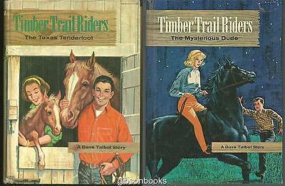 Lot of Two Dave Talbot Stories by Michael Murray Timber Trail Riders #2 and #5