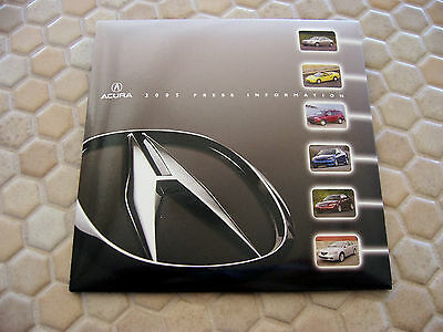 Acura Official Nsx Rl Tl Tsx Rsx Rsx-S Mdx Full Press Kit Cd Brochure 2005