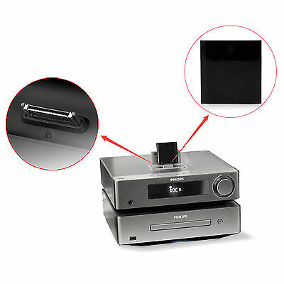 30pin Wireless Bluetooth Audio Stereo Music Home Car Receiver AUX Speaker