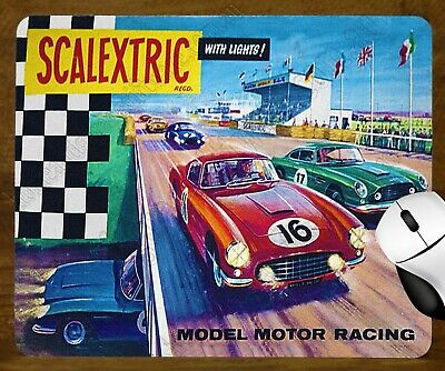 Unique Mouse Pad - Scalextric - Model Motor Racing