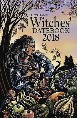 Llewellyn's Witches' Datebook 2018 by Llewellyn Spiral Book