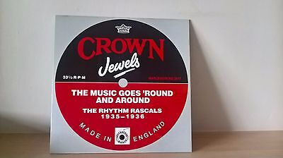 The Rhythm Rascals - Crown Jewels [1935-36] (Harlequin Hq 3017) Uk 1988 Lp Ex