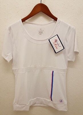 Karakal Womens Carmela Tee White Sizes S-XL