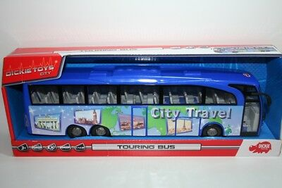 DICKIE 203745005 - TOYS CITY - TOURING BUS - CITY TRAVEL (ca. 30cm) - NEU